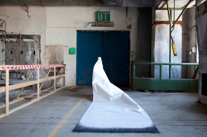 Paper Drawing at former paper factory # 2